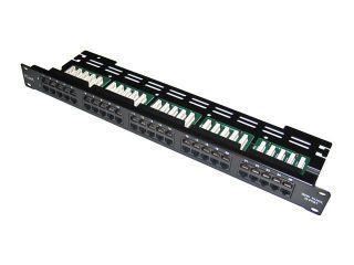 Коммутационная панель для 19-дюймовой стойки (Patch Panel 19 1U) теле