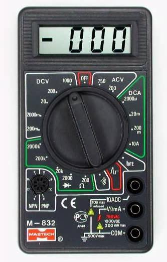 M832 Mastech (звуковая прозвонка, генератор частоты) Гарантия 6 месяц.